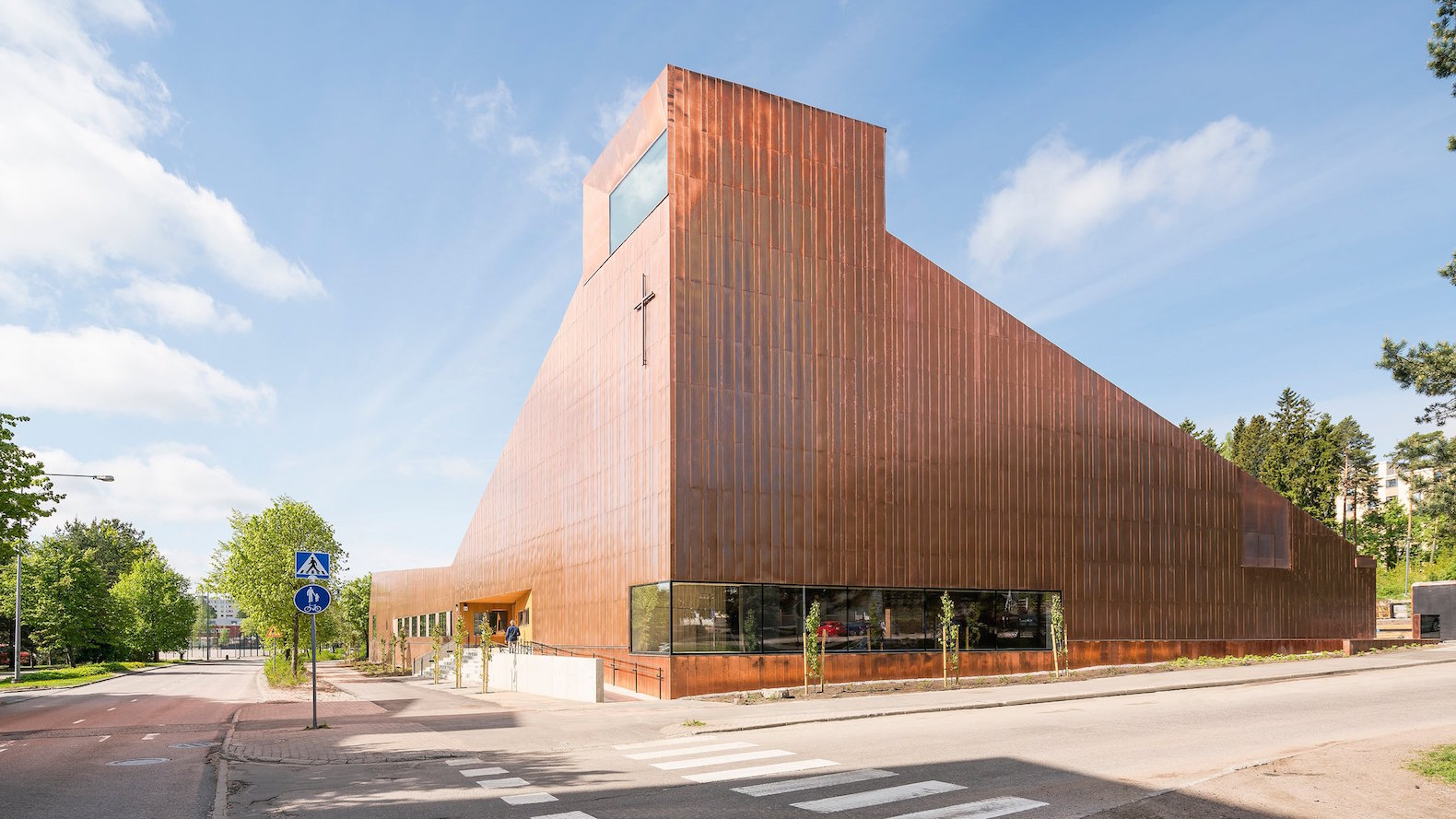 Copper-clad chapel is a beacon of unity in one of Helsinki's most multicultural districts