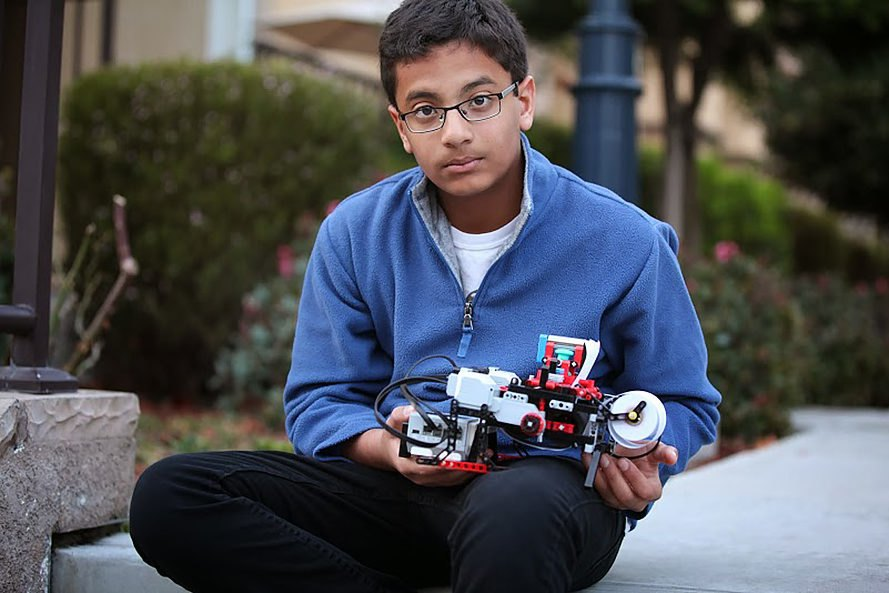 Shubham Banerjee, California, Braille, Braille printer, Braigo v1.0, Braigo Labs, printer, printers, blind, visually impaired, technology, hardware, Lego, teenager, teenagers, teenage invention, teenage inventions, inventions