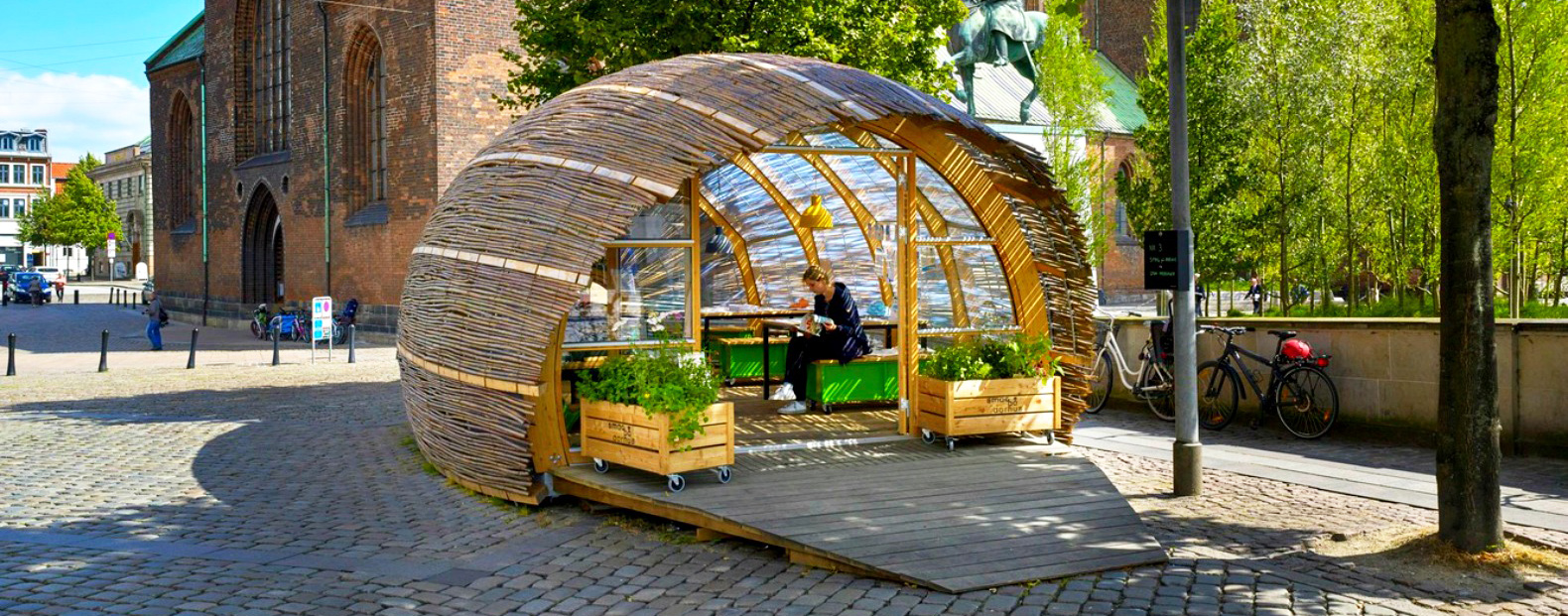 Urban space inhabitat green design innovation architecture green building - Small urban spaces image ...
