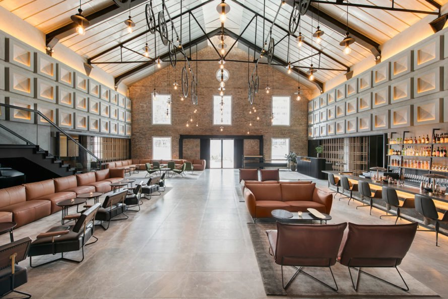 Warehouse Hotel by Zarch Collaboratives, Warehouse Hotel by Asylum Creatives, Warehouse Hotel in Singapore, Warehouse Hotel godown history, converted godowns, renovated warehouse architecture, renovated godowns, industrial chic hotel design