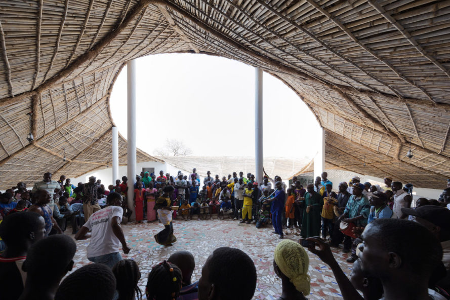 Thread Artist Residency & Cultural Center by Toshiko Mori Architect, Thread Artist Residency & Cultural Center, Josef and Anni Albers Foundation, Senegal cultural center, Sinthian cultural center, Senegal community center, community design in Senegal, 2017 Honor AIA Awards