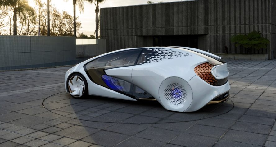toyota, toyota concept-i, concept-i, consumer electronics show, ces, 2017 consumer electronics show, 2017 ces, autonomous car, self-driving car, artificial intelligence, AI, toyota, green car, green transportation, self-driving car, concept car