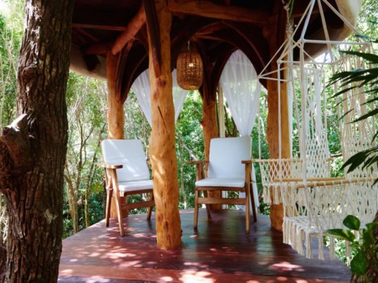 Sleep In Sustainable Luxury In This Eco Friendly Jungle