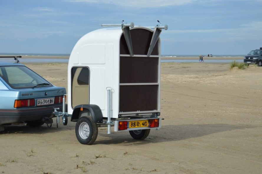 tiny trailer, tiny camper, tiny rv, homie, expandable trailer, expandable rv, lightweight trailer, ultralight camper, wide path trailer
