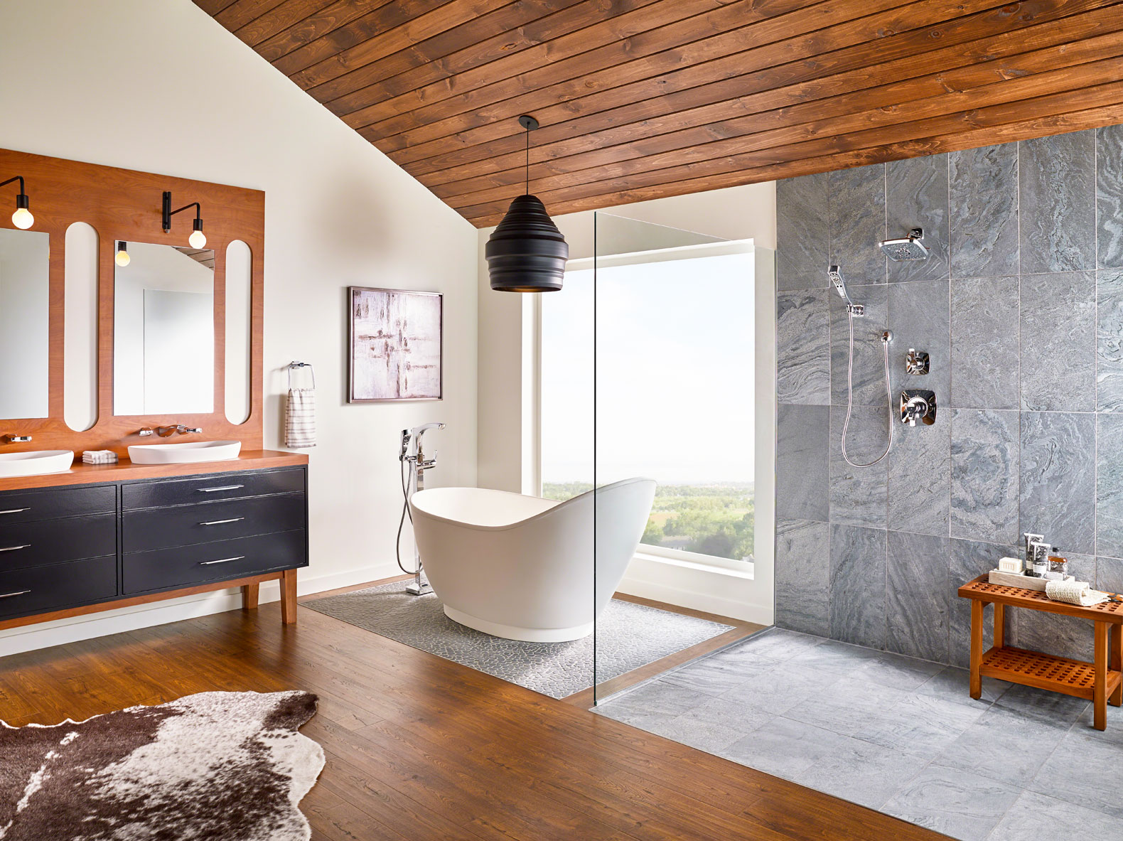 15 stunning examples of interior design using natural stone