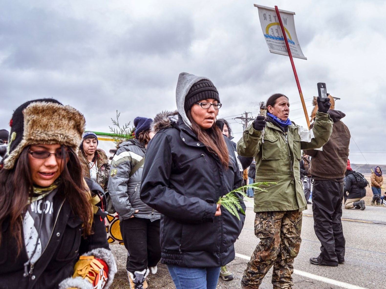North Dakota lawmaker wants to make it legal to run over protesters