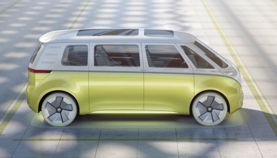 Vw Unveils The All Electric Autonomous Microbus Of The Future