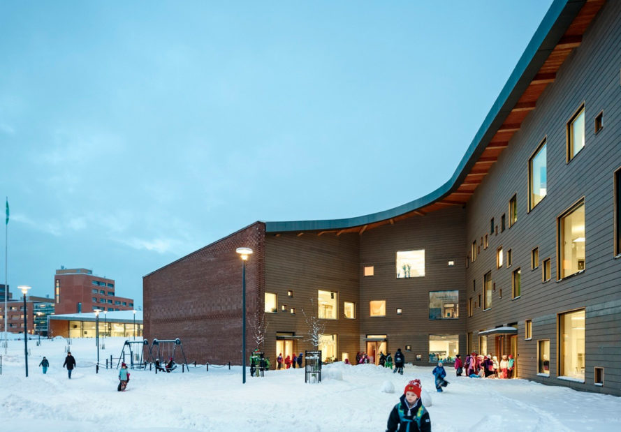 saunalahti school, verstas architects, finland school