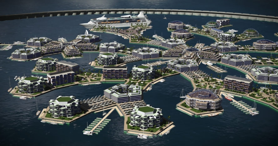 seasteading institute, randolph hencken, world's first floating cities, floating city French Polynesia, self-sustaining floating city, pacific island floating city, French polynesia and Seasteading Institute, MOU french polynesia and seasteading, floating city in French Polynesia, first floating city in the world