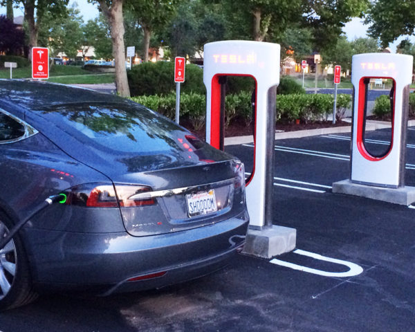 tesla, charging, supercharger stations, free access, pay for power, model s, cost of charging electric cars