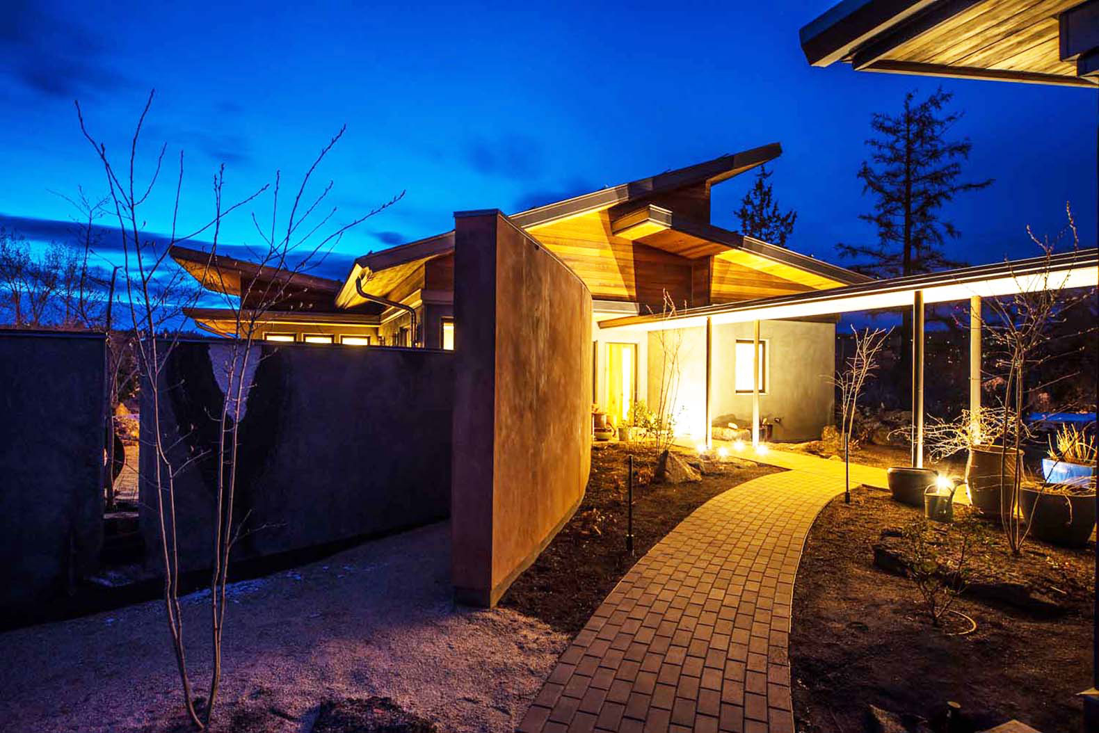 Desert Rain House In Oregon Is One Of The Greenest Homes