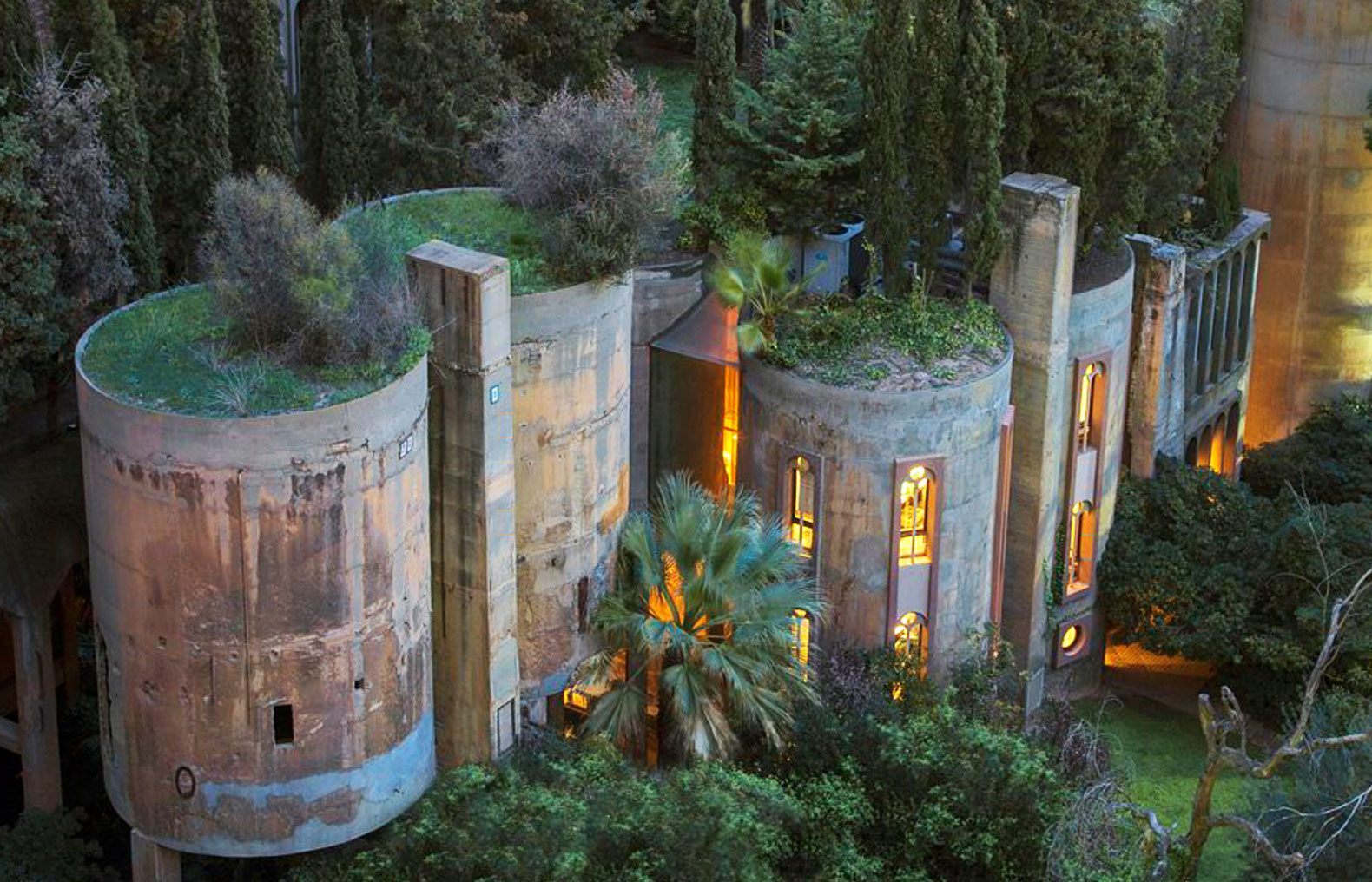 Architect turns old cement factory into incredible fairytale home - and the interior will blow you away