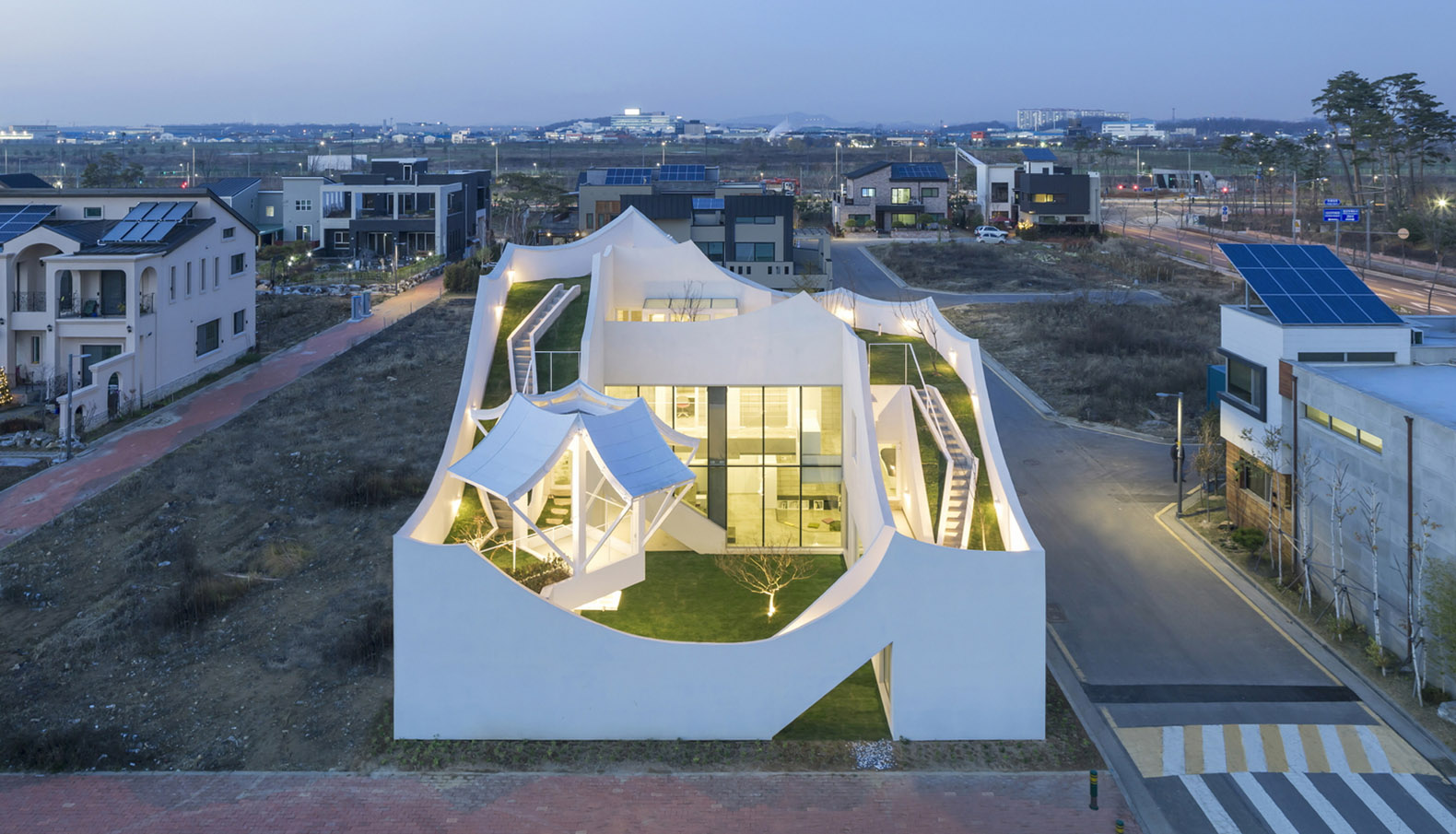 This Looks Like The World 39 S Funnest House In South Korea