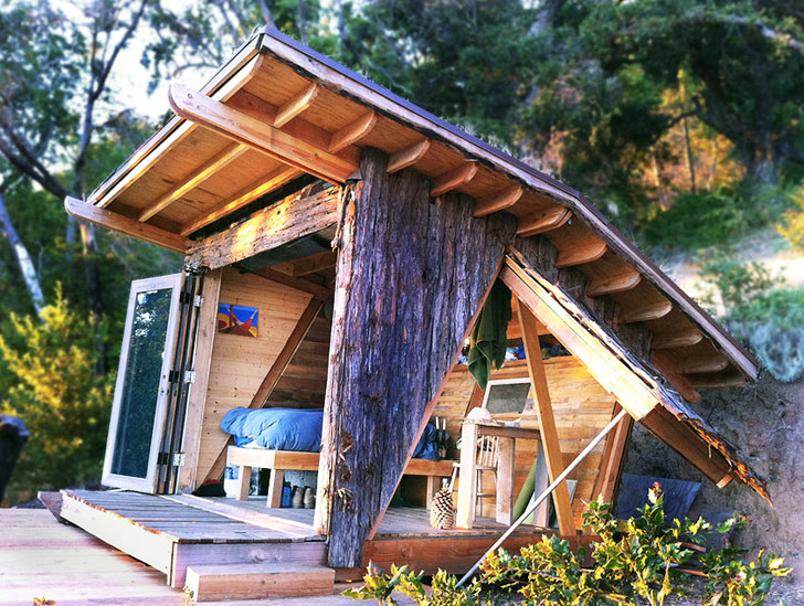 How to get off the grid and live rent-free