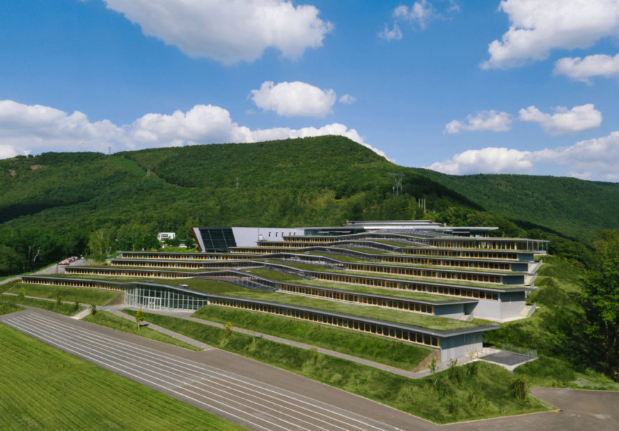 Duncan Lewis Scape Architecture, Jean Moulin High School, green roof, french architecture, school design, nature-inspired architecture, green space, green roofs schools, sustainable design, green design, school renovations, green renovations,