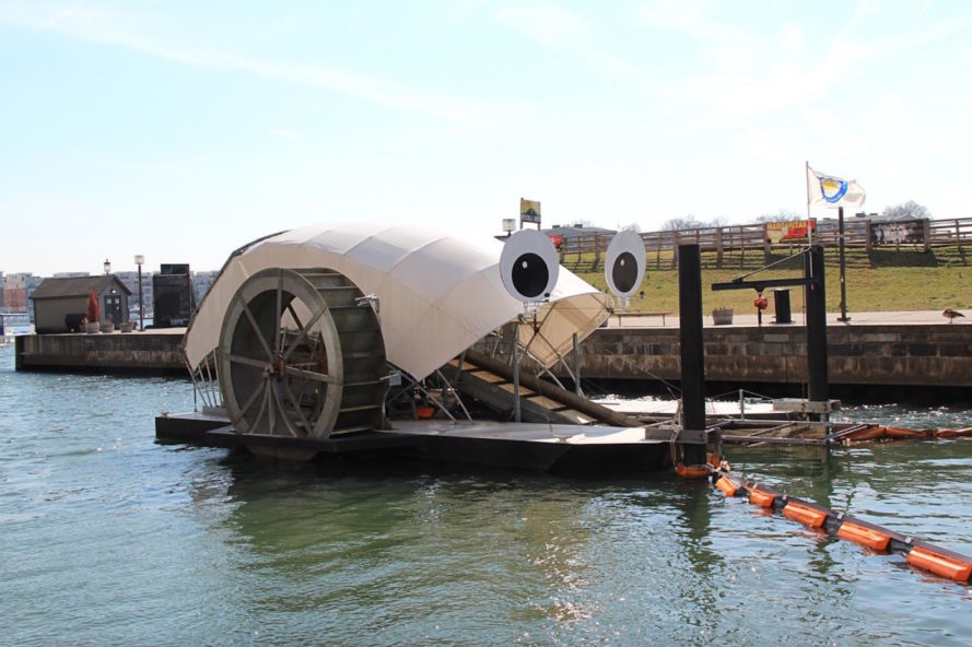 Mr. Trash Wheel, waste removal, water pollution, trash