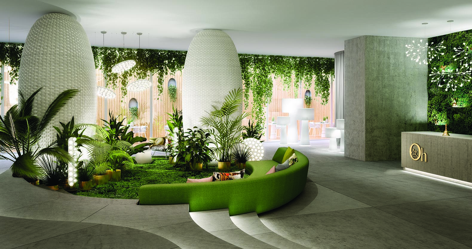 Earth Air And Fire Inspire Deep Green Interior Of Ecuador