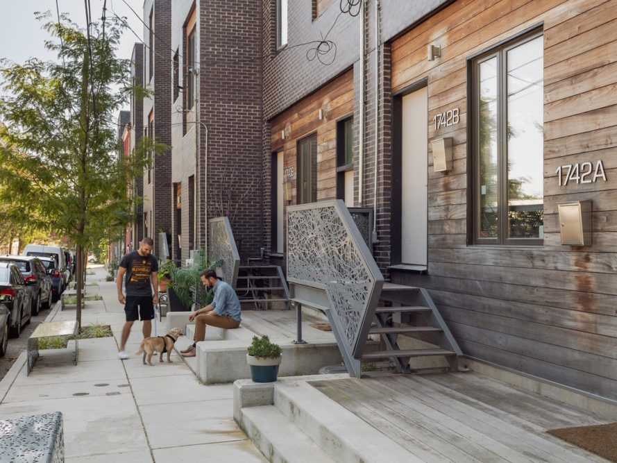 Powerhouse by ISA, Folsom Powerhouse by ISA, Folsom Powerhouse by Interface Studio Architects, LEED Platinum Powerhouse, LEED Platinum in Francisville, stormwater management in Philadelphia, Philadelphia LEED housing
