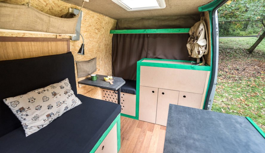 Rundabella, conversion, tiny home, mobile home, Norbert Juhász, off-the-grid living, house on wheels, green design, eco-travel, solar panels, compact homes