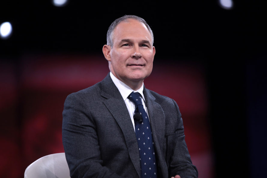 Scott Pruitt, Pruitt, Environmental Protection Agency, EPA, environment, government, government agency, agency, Donald Trump, Trump, President Donald Trump, President Trump, Trump presidency, protest, protests, demonstration, demonstrations