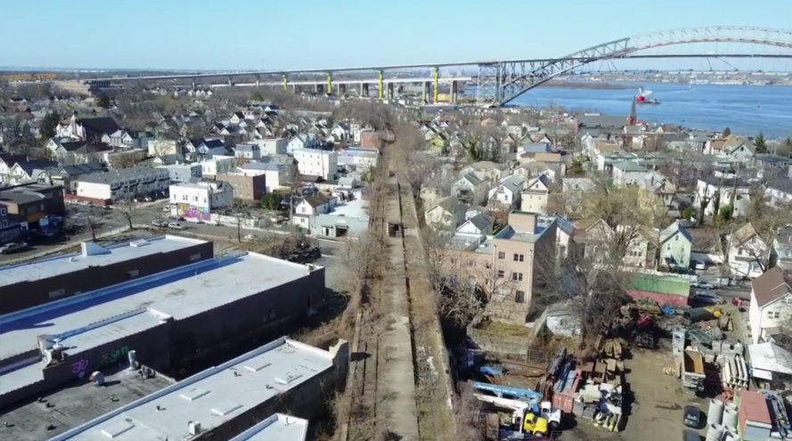 Staten Island, the High Line, Port Richmond, NYC, New York, New York City