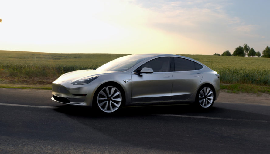 Tesla, Tesla Model 3, Model 3, Elon Musk, electric car, electric vehicle, green car, green transportation, electric motor, zero emissions, automotive