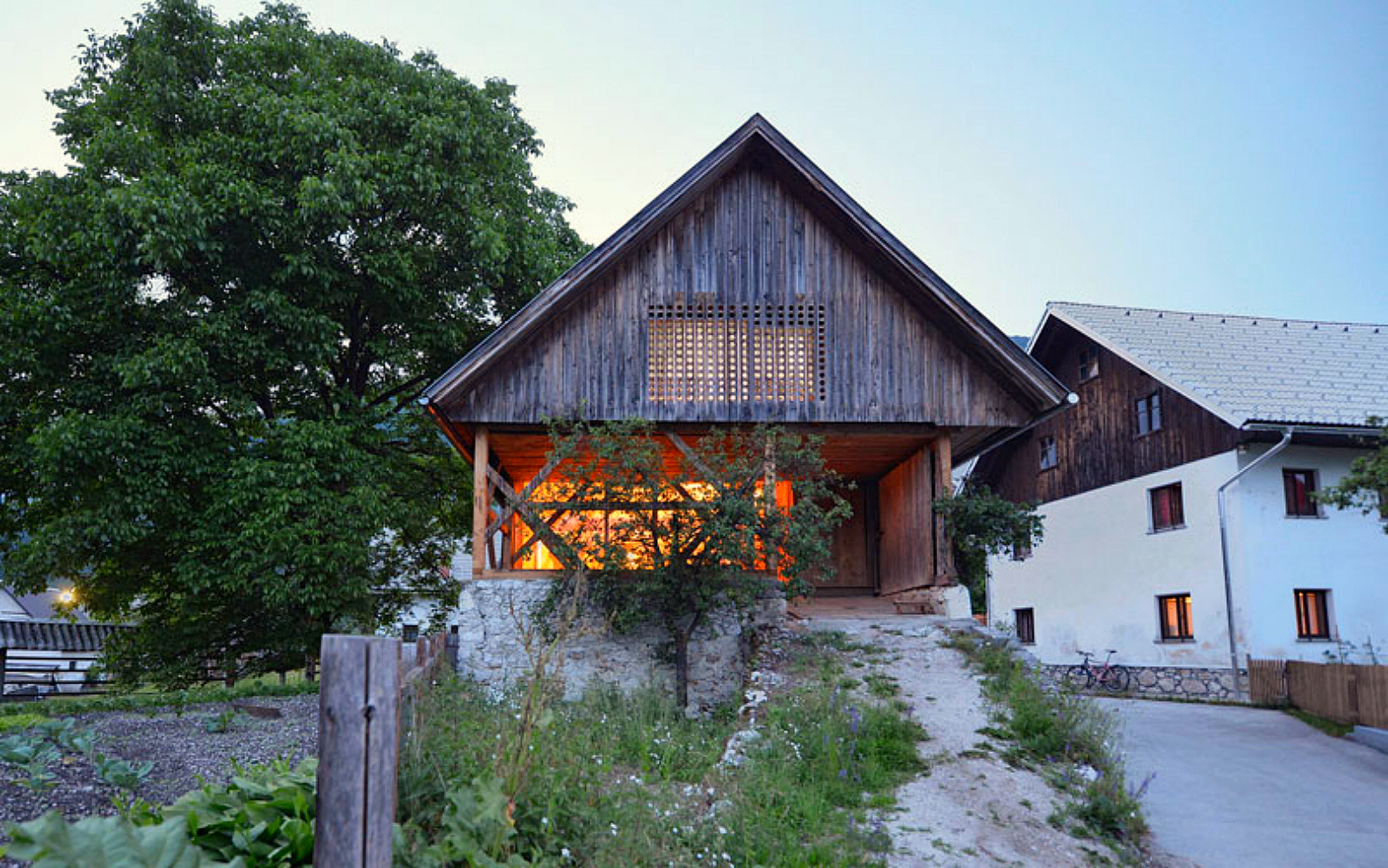 Architecture, locally sourced materials, green design, interior design, repurposed materials, green renovations, barn renovations, barn renovation, ofis architects, moveable walls, Gallery, carousel showcase, barn design, wood architecture, sliding walls, repurposed barns, Ambienti, barn homes, slovenian architecture, green barn renovations, loft designs