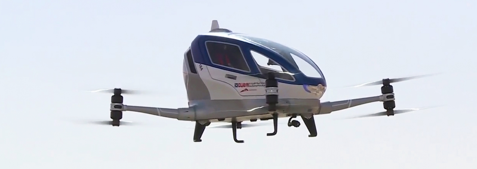 Dubai plans to launch autonomous flying drone taxis by mid-2017