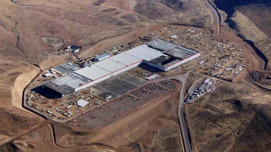 Tesla, Gigafactory, Elon Musk, electric vehicles, lithium-ion batteries