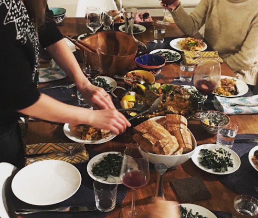 dinner party, cozying around, get together, hygge