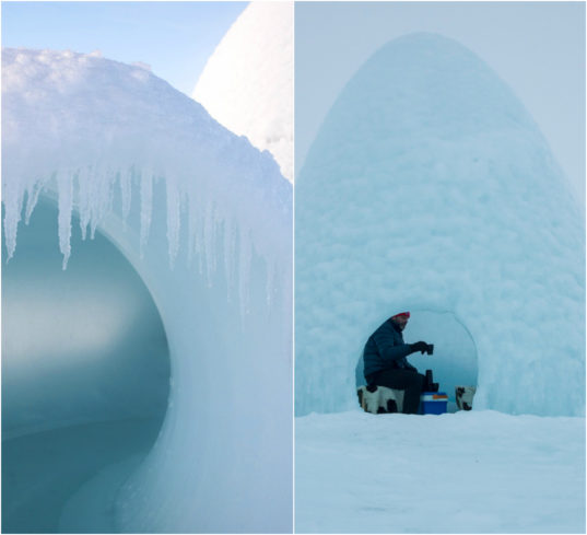 Tiny Home Designs: Tiny Ice Pods Provide Shelter For Cold Weather Adventurers