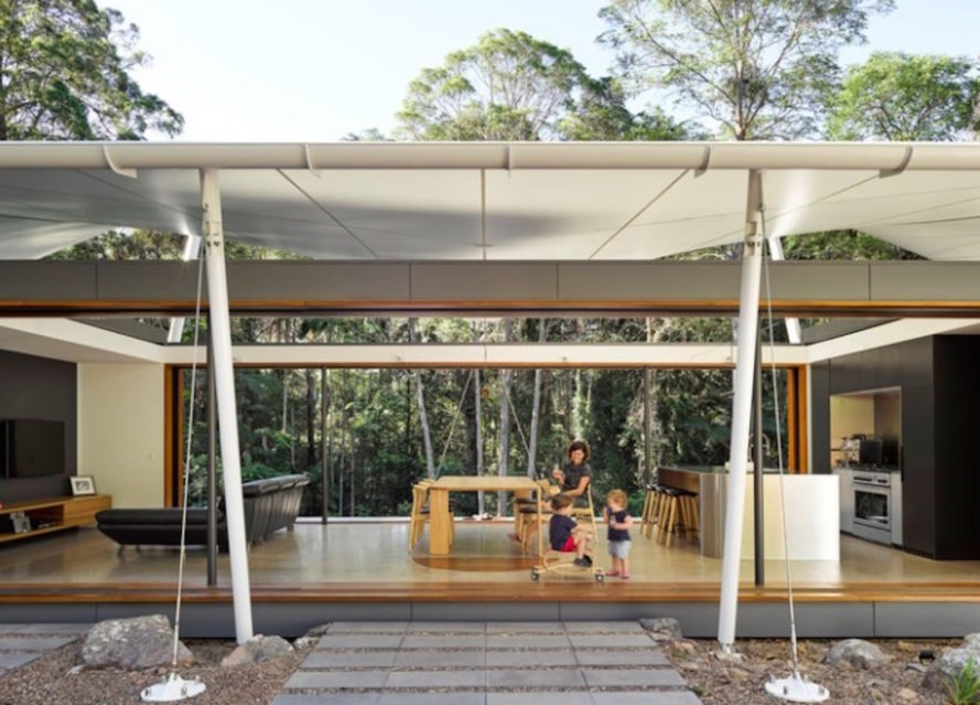 open living, architecture, indoor/outdoor architecture, tent house