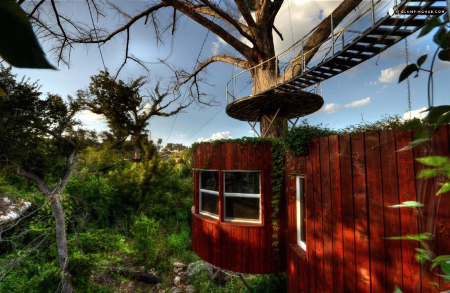 9 Treehouses You Can Actually Rent For An Off The Ground