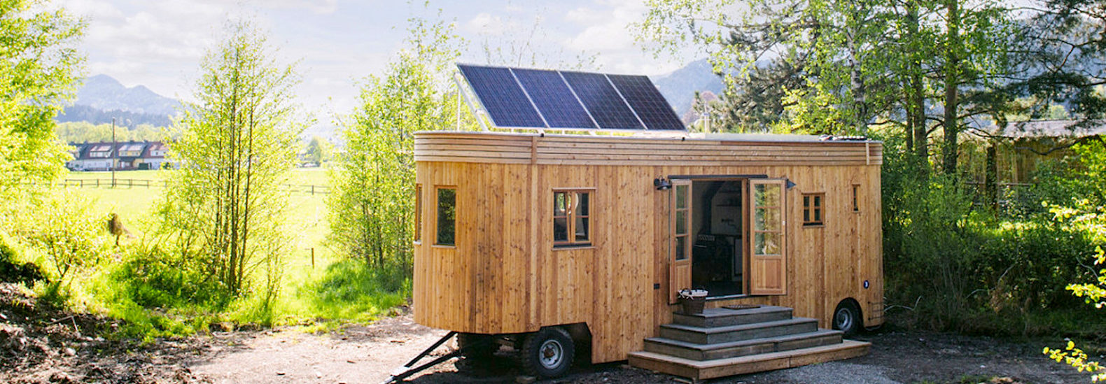 Wonderful 7 Charming Off Grid Homes For A Rent Free Life