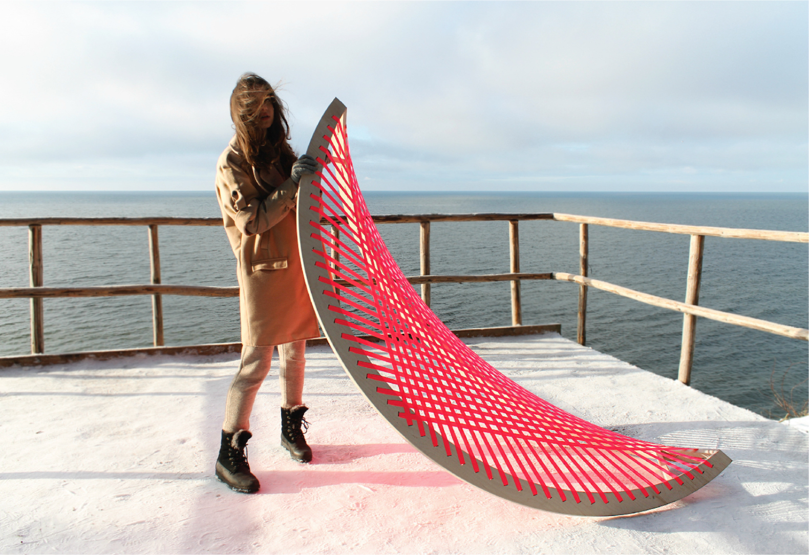 This Quirky Pink Hammock Doesn T Need Trees To Rock Your