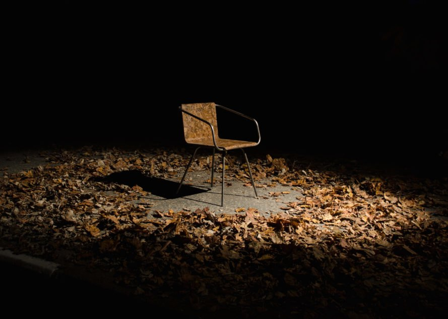 biodegradable furniture, Beleaf chair, Beleaf chair by Simon Kern, furnishing made from leaves, recycled materials for furniture, biodegradable chair