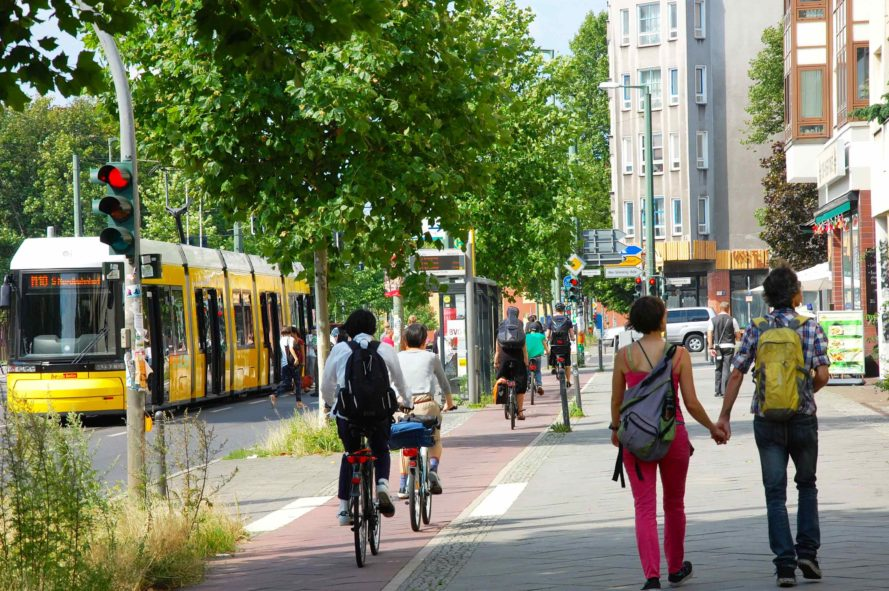 Berlin, bike, bikes, bicycle, bicycle, cycle, cycling, biking, bike superhighway, bicycle superhighway, bike lane, bike lanes, bicycle lane, bicycle lanes, infrastructure, city, Senate Administration for the Environment Transport and Climate Protection