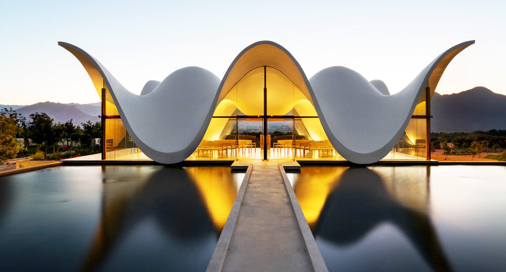 Ethereal South African Chapel Topped With Floating