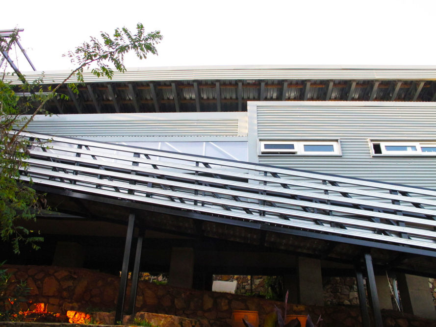 Modern Recycled Container House South Africa Operates Off Grid