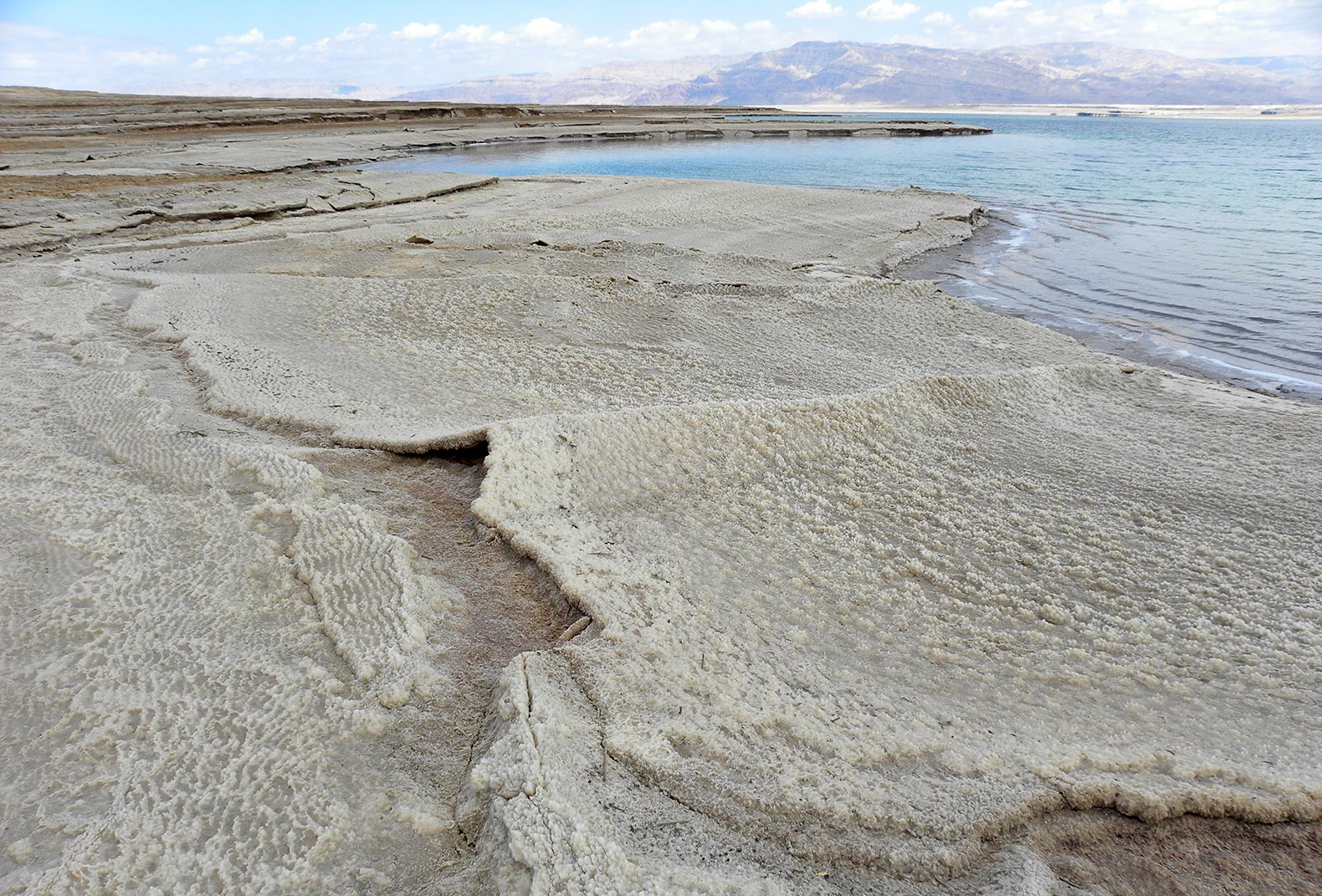 Dead Sea salt reveals drought on a scale never recorded - and it could happen again