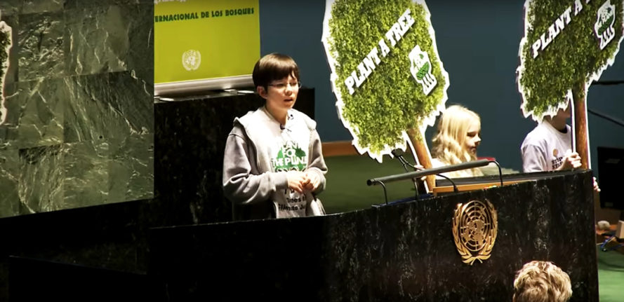 Felix Finkbeiner, Plant for the Planet, United Nations, United Nations Billion Tree Campaign, Billion Tree Campaign, tree, trees, plant trees, planting trees, one million trees, one billion trees, one trillion trees, carbon dioxide, CO2, climate change, global warming, environment, nature, kid, kids, teen, teens, teenager, teenager, activist, activists, activism