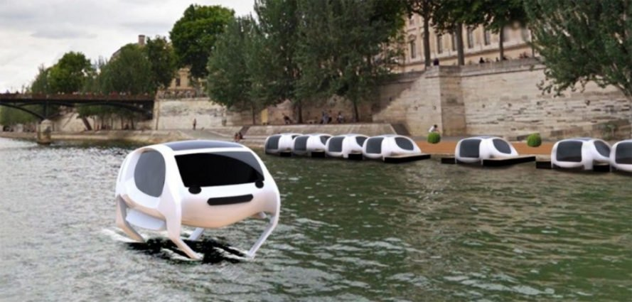 SeaBubbles, SeaBubble, Alain Thébault, Anders Bringdal, water taxi, water taxis, taxi, taxis, River Seine, Seine River, Seine, Paris, France, green transportation, public transportation, transportation, electricity, battery, river, rivers