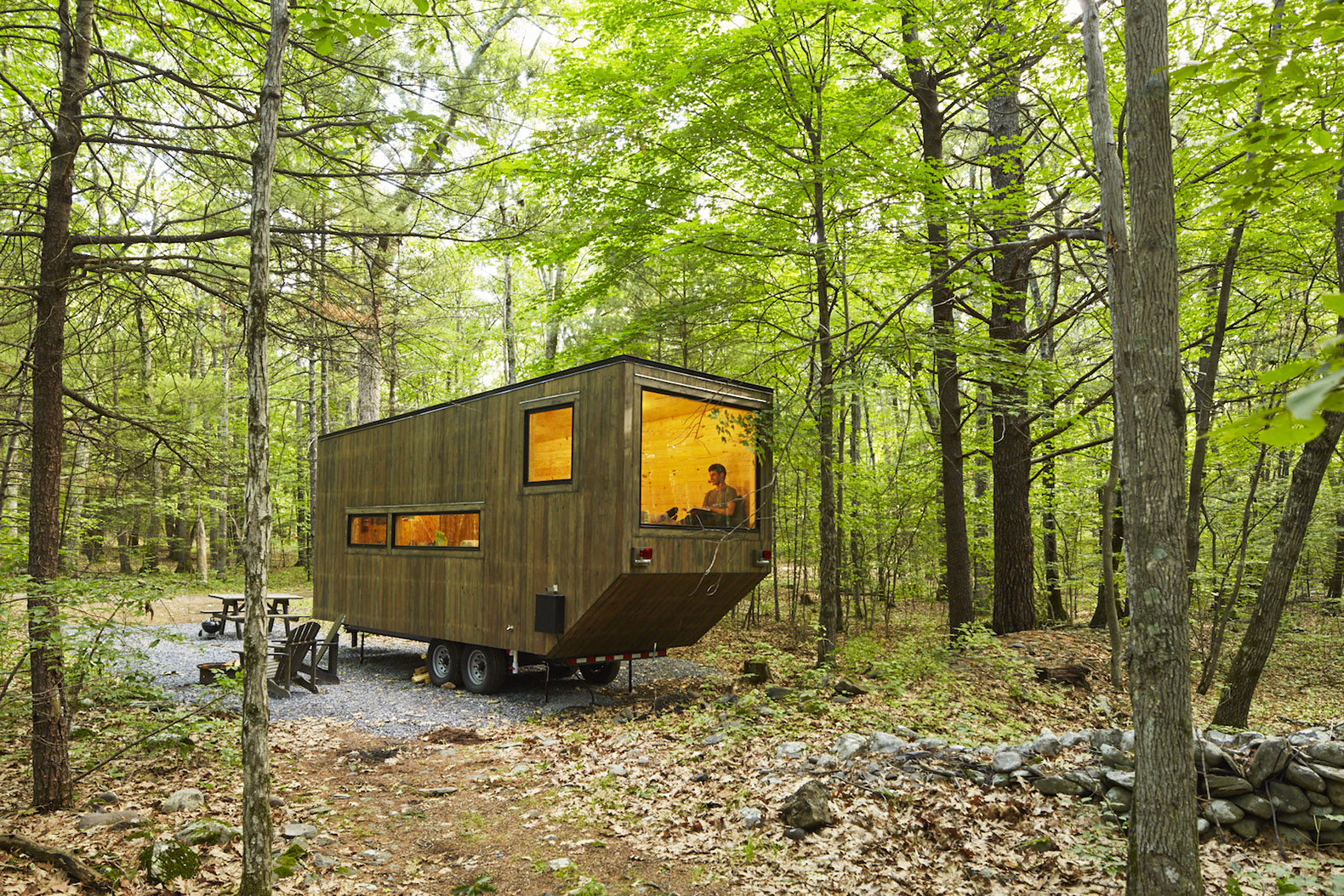 Tiny house inhabitat green design innovation for Getaway cottage