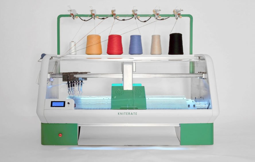 a16ef500903 Kniterate is a digital knitting machine that lets you  print  your own  clothes