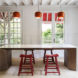 Maison à Colombages, green renovation, 19th century, Paris, 05AM Arquitectura, restoration, France, green architecture, natural lighting, storage spaces, open-plan layout, green fireplace
