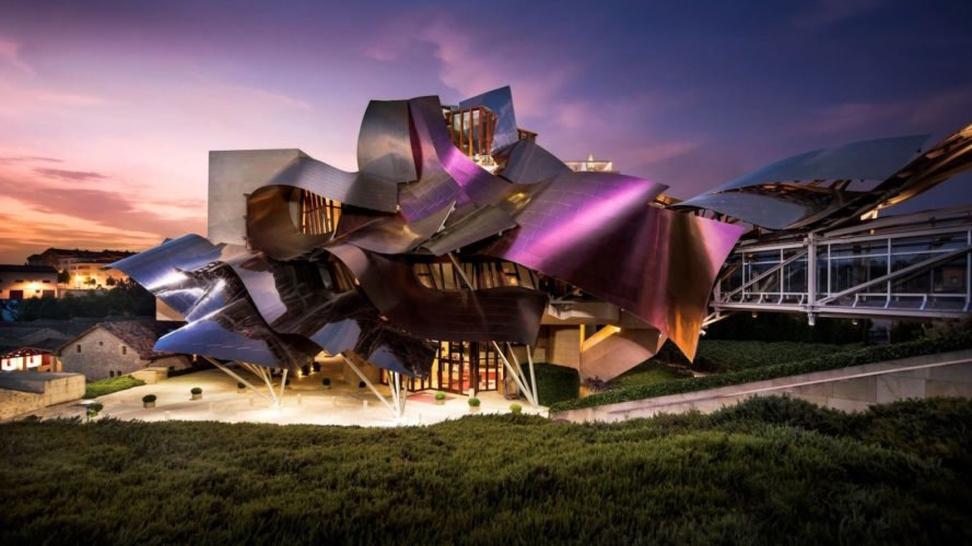 Gehry Designed Luxury Hotel Brings Avant Garde Design To Historic Spain Winery likewise 497577458815002163 also Available further Watch together with Singapore Marina Bay Night View Architecture Skyline Hd 4k 4207. on ultra modern architecture