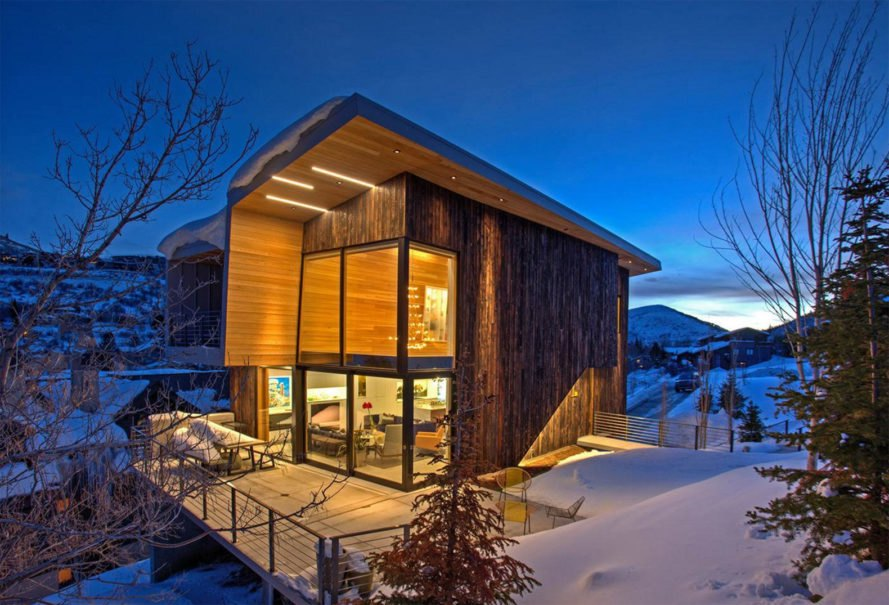 Axis Architects Designs Stunning Mountain Passive House In