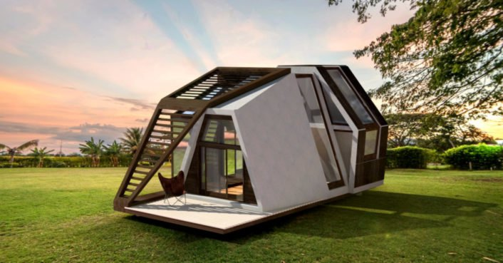 This ready-made tiny home can be shipped to any destination