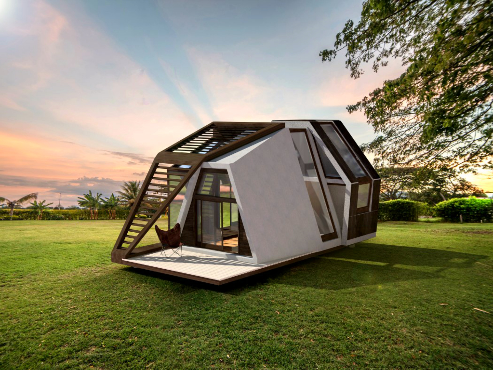 Ready Made Homes : This ready made tiny home can be shipped to any