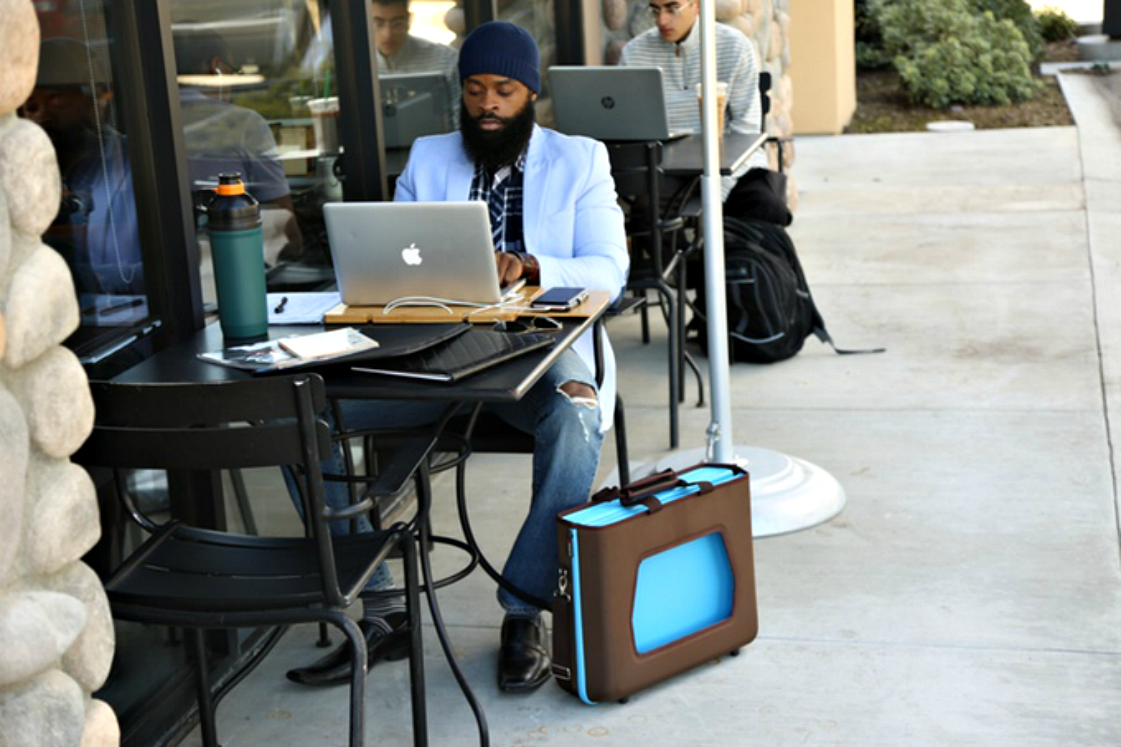Satchelbord Is The World S First Truly Portable Office In